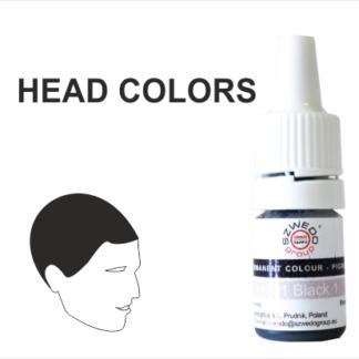HEAD COLORS